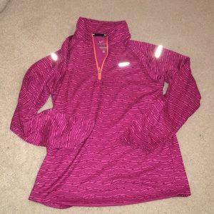 Girls Nike running light weight sweatshirt